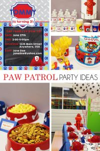 Budget friendly paw patrol party ideas