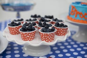 bubble birthday party snack ideas