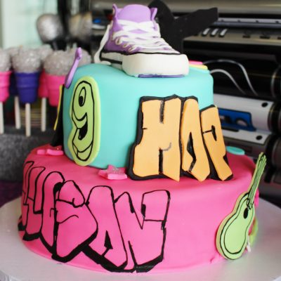 Allison's Dance Birthday Party- Hip Hop Party Ideas