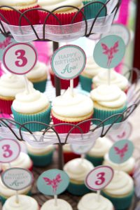 woodland fairy cupcake toppers