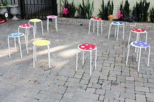 fairy party activity ideas musical chairs party game