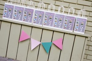 scavenger hunt at a woodland fairy party