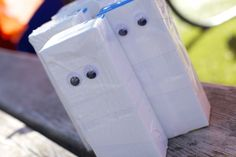 DIY mummy juice boxes