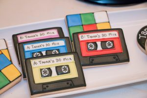 80s cookies for an 80s costume party