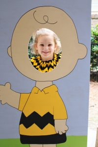 great pumpkin charlie brown photo board