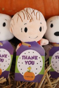 great pumpkin charlie brown party favors