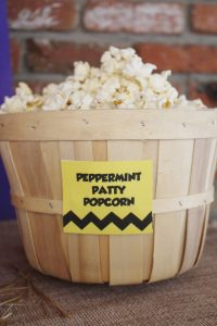 charlie brown party ideas