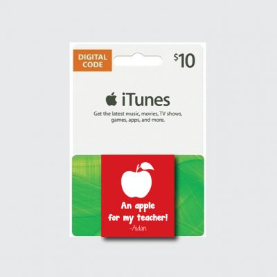 An Apple for my Teacher Gift- Back to School Teacher Gift Ideas