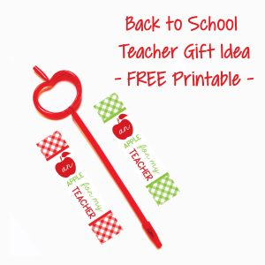 4 Meet the Teacher Gift Ideas & FREE Printables - Crowning