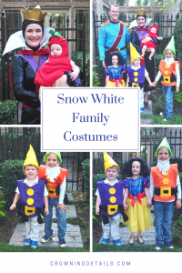 snow white family halloween costumes