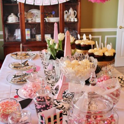 Pretty in Pink, Parisian Birthday Party