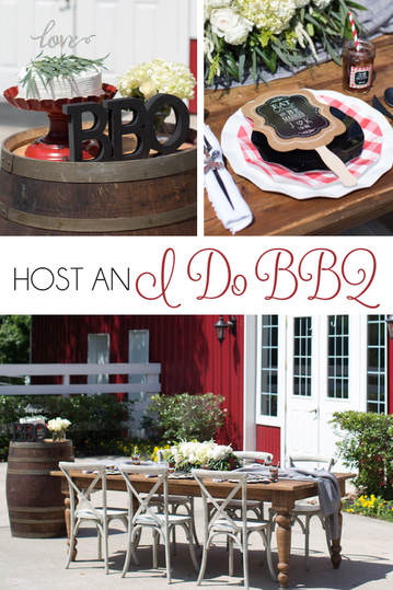 I Do BBQ Bridal shower ideas
