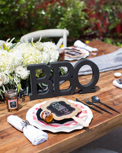 i do bbq bridal shower details