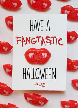 have a fangtastic halloween printable