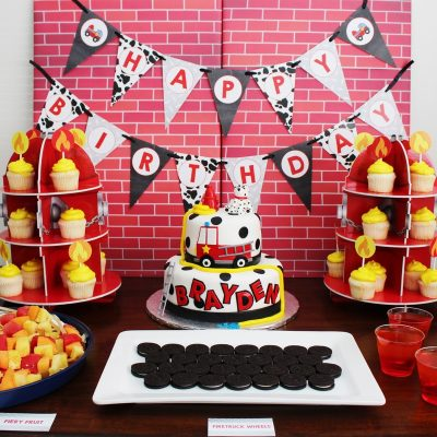"Fireman Birthday Party Ideas- ""It's a Blaze"""