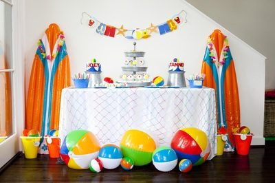 2nd Birthday Beach Bash