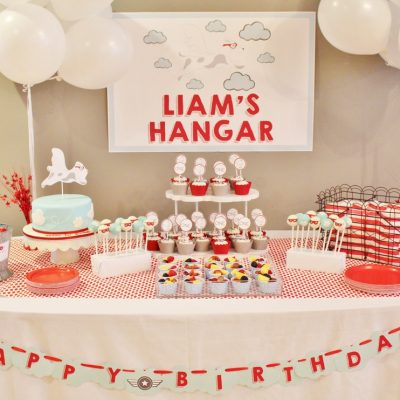 Friday's Featured Party- Liam the Brave's 1st Birthday Party