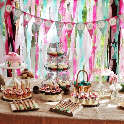 How to Create a Woodland Fairy Birthday Party