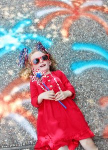 4th of july sidewalk chalk ideas