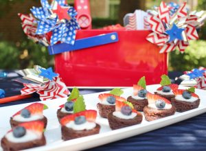 patriotic brownie recipe for 4th of july parties