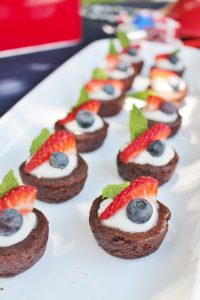 patriotic brownies for the 4th of july