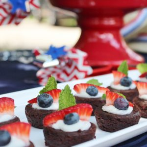 How to Make Easy Patriotic Brownies