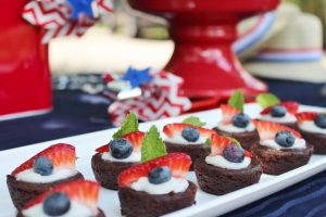patriotic brownie recipe