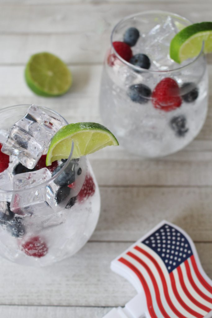 sparkling patriotic cocktail recipe