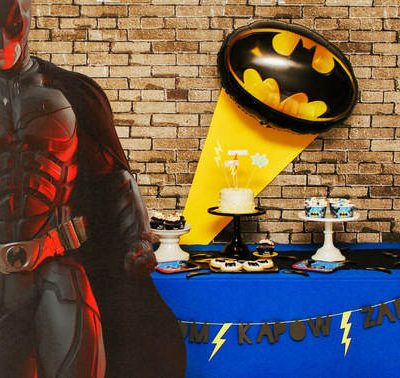 A Batman Birthday Party! A Superhero Lover's Dream