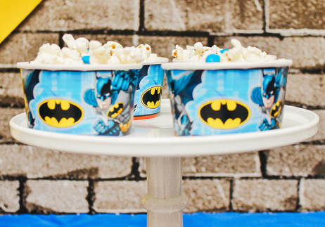 batman birthday party snacks