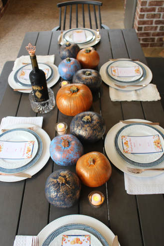 friendsgiving tablescape ideas