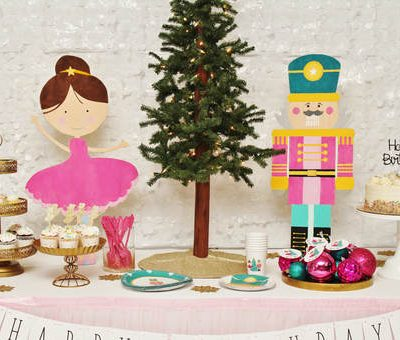 How to Style a Nutcracker Birthday Party