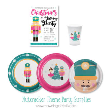 nutcracker party supplies