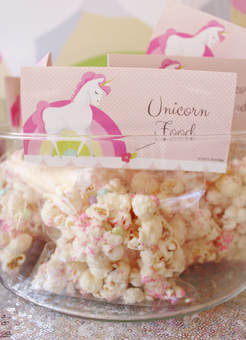 unicorn party snacks unicorn food