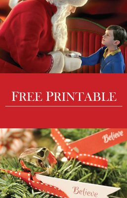 Believe in the Magic Of Christmas & FREE Printable