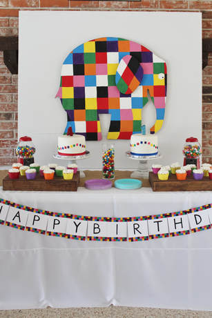 elmer birthday party