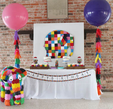 elmer the elephant birthday party