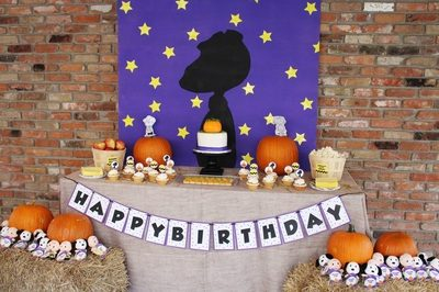 Caroline's It's a Great Pumpkin Charlie Brown Party!!
