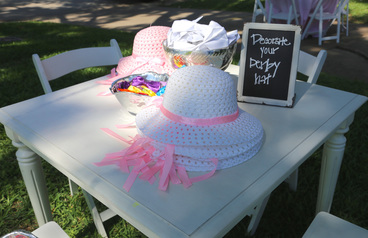 decorate your kentucky derby hat party activity
