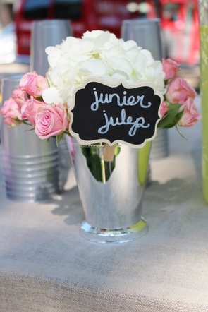 junior julep station at a kentucky derby birthday party