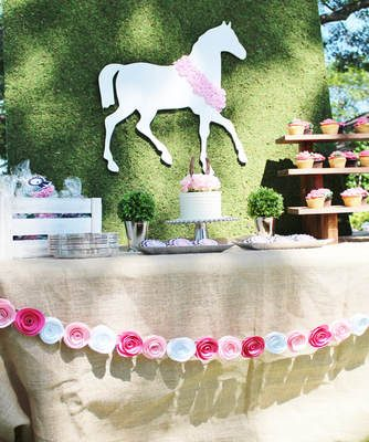 Claire's Big Kentucky Derby 2nd Birthday Party