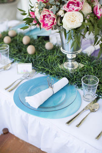 Easter Egg Plate Charger