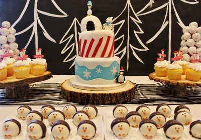 Colt's Winter One-derland 1st Birthday Party