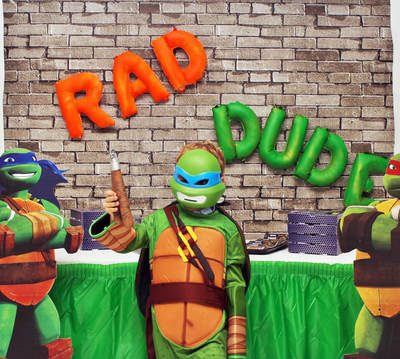 Cowabunga Dude! A TMNT Birthday Party!