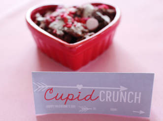 Cupid Crunch Recipe & FREE Printable