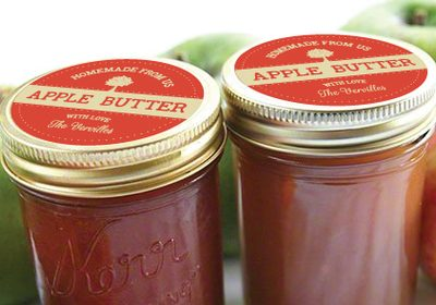 DIY Apple Butter Thanksgiving Hostess Gifts