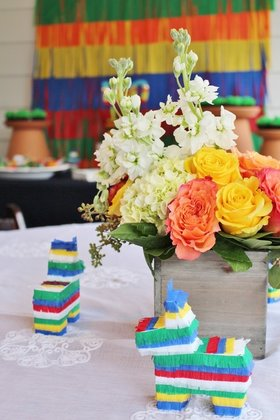 fiesta party ideas and centerpiece