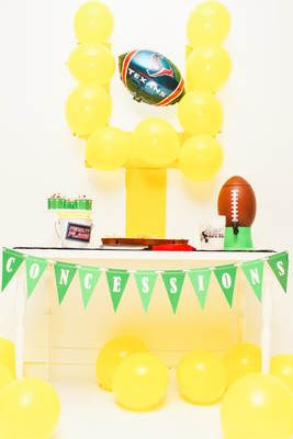 Down. Set. Party! Football Party Ideas