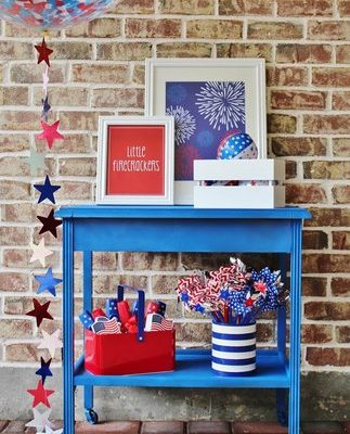 Family Friendly 4th of July Party with FREE Printable Posters