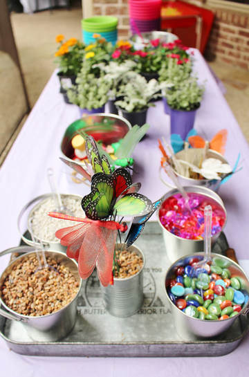 make your own butterfly garden craft